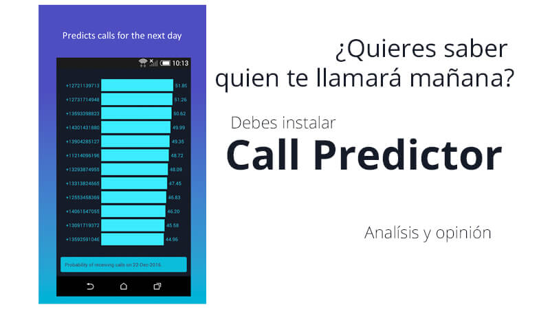 call predictor - banner