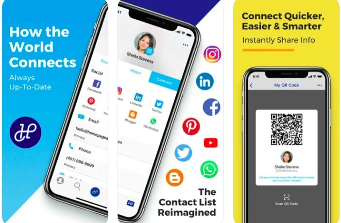 homepage smart contact list